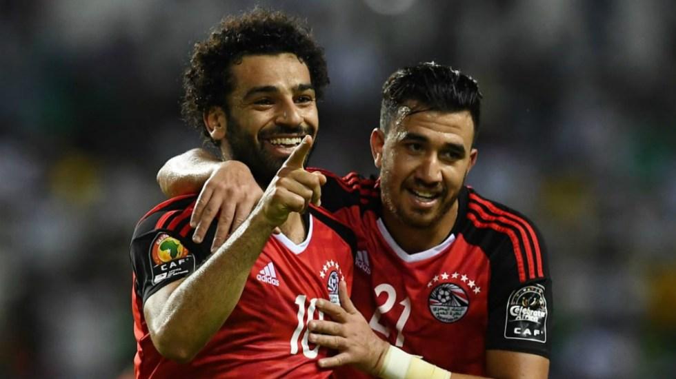 Mohamed Salah sí podría jugar la Copa del Mundo - Foto de AFP