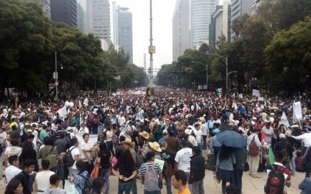 Movilizaciones afectarán Paseo de la Reforma e Iztapalapa - Foto de Internet