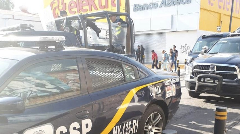 #Video Policía abate a ladrón en tienda de Iztapalapa - Foto de Internet