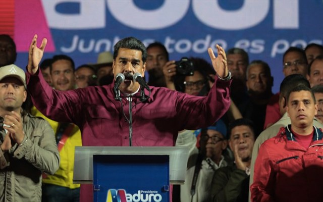 Maduro logra su reelección en Venezuela - Foto de Prensa Presidencial Venezuela