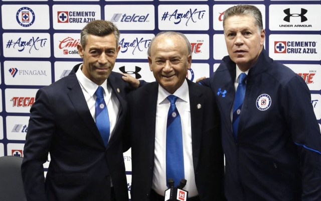 Ricardo Peláez promete darle un nuevo título a Cruz Azul - Foto de Internet