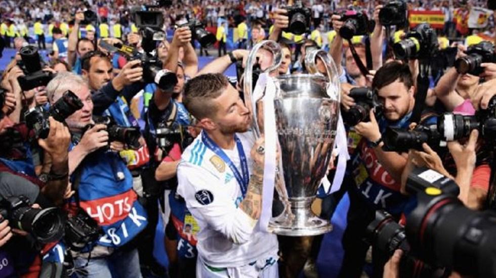 La UEFA descarta medidas contra Sergio Ramos - Foto de Internet