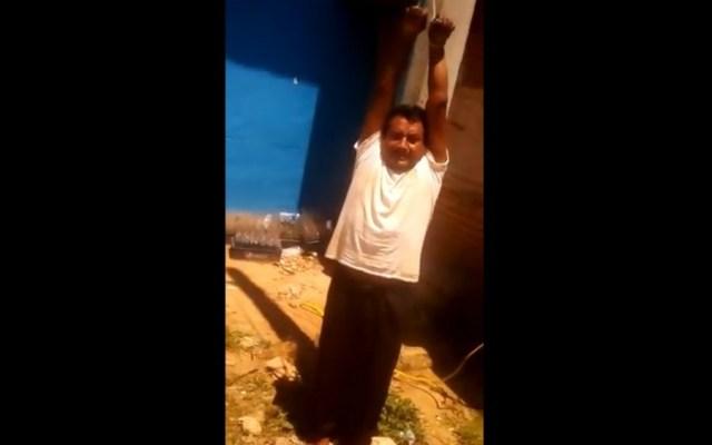 Acuerdan libertad de Ramiro González Patishtán en Chiapas - Foto de Youtube