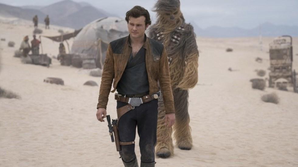 """""""Solo: A Star Wars Story"""" defrauda en su fin de semana de estreno - Solo: A Star Wars Story. Foto de Lucasfilm"""