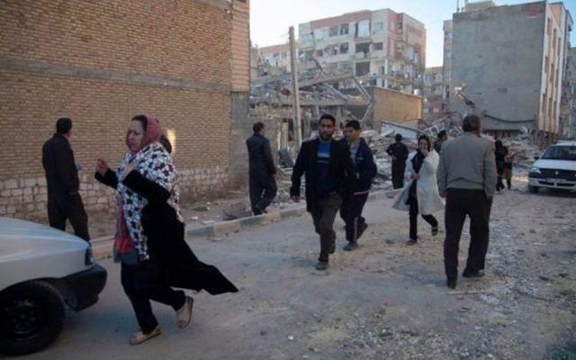 Sismo de 5.2 deja 31 heridos en Irán - Sismo en Irán. Foto de Reuters