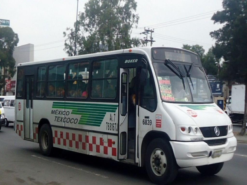 Transporte en el Edomex el más caro, peligroso y antihigiénico del país - Foto de Mug Noticias