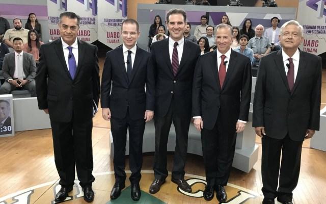 #EnVivo Segundo debate presidencial - Foto de INE