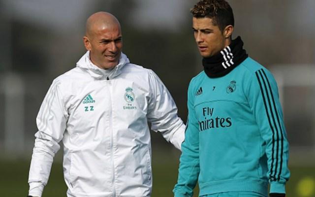 CR7 está al 120 por ciento para la Final de Champions: Zidane - Foto de Getty Images