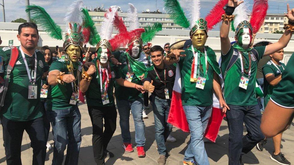 FIFA investigará grito homofóbico por parte de aficionados mexicanos - Foto de @miseleccionmx