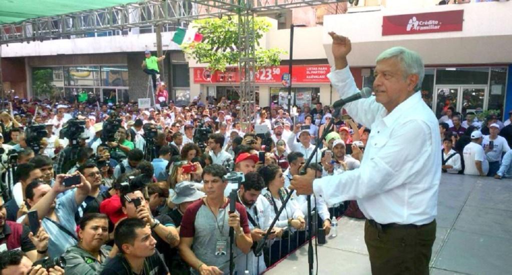 AMLO pide a EPN asistir a inmigrantes afectados por política de Trump - Foto de @Riodoce_mx
