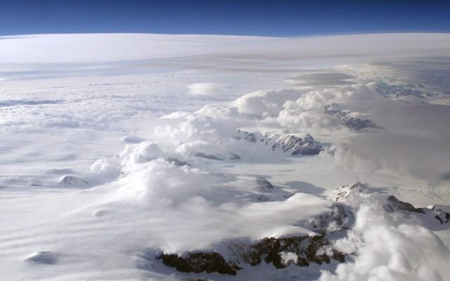 Antártida rompe récord de la temperatura más fría registrada - Foto de NASA