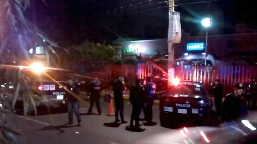Asesinan a hombre frente a Plaza Vaqueritos en Xochimilco - Foto de Milenio
