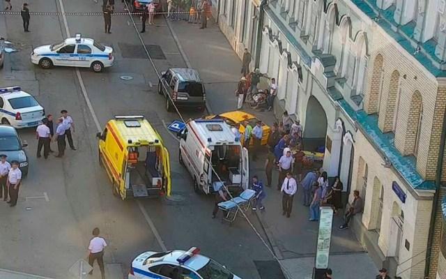 #Video Dos mexicanas heridas tras atropellamiento en Moscú - Foto de @gucodd