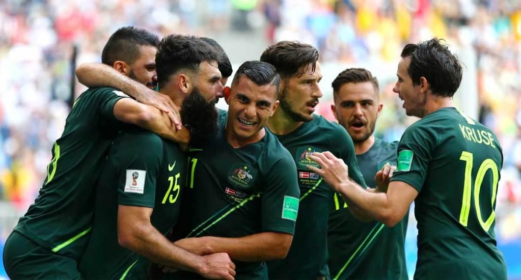 Australia empata con Dinamarca - Foto de Getty