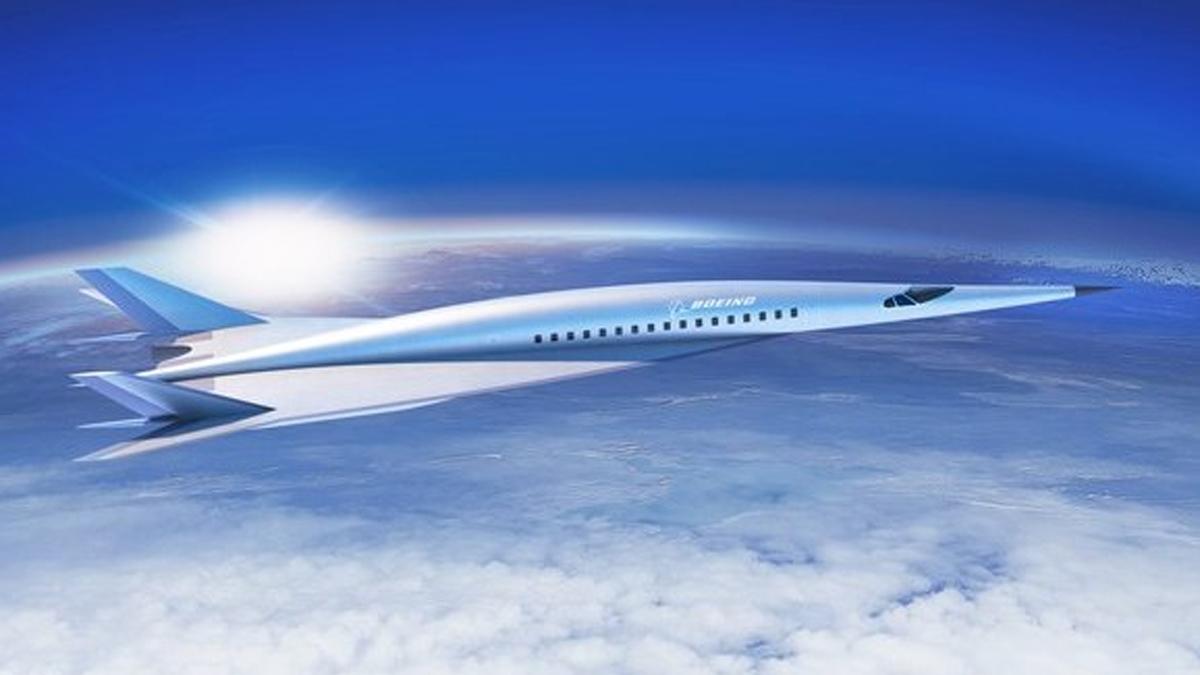 Boeing mostró su avión hipersónico para pasajeros
