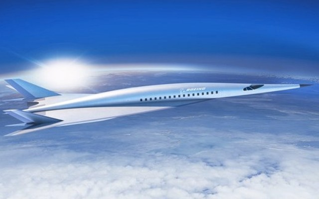 Boeing presenta su primer diseño de avión hipersónico - Foto de Milenio