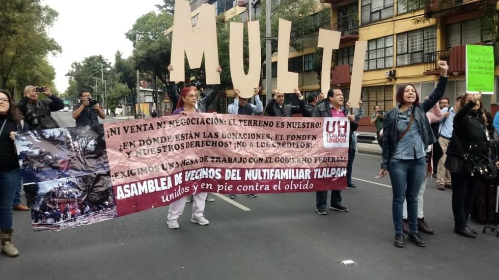 Liberan Calzada de Tlalpan tras una hora de bloqueo - Foto de archivo