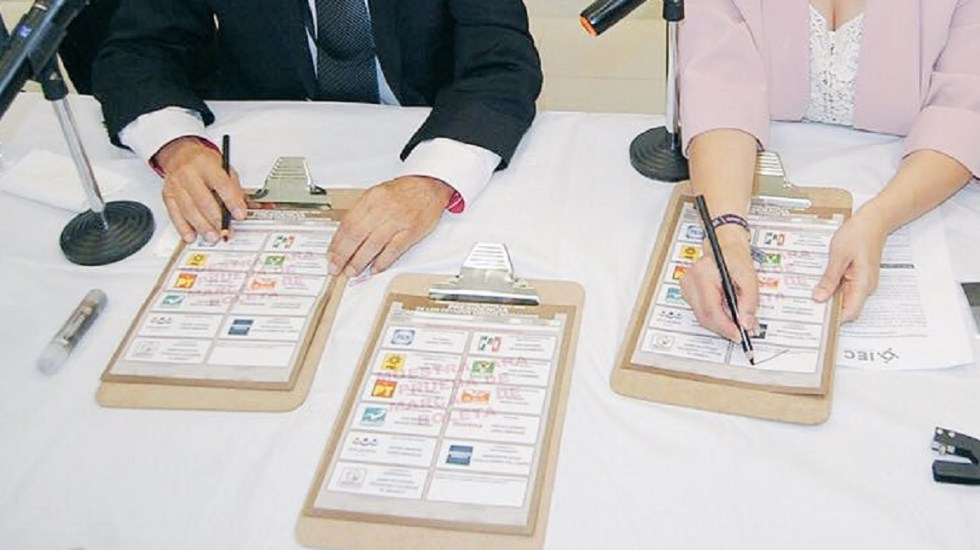 Validan votar con sobrenombres, acrónimos y siglas en boletas - Foto de @FotoMexCoahuila