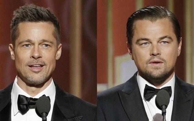 La primera imagen de Brad Pitt y Leonardo DiCaprio en película de Tarantino - Foto de La Nación