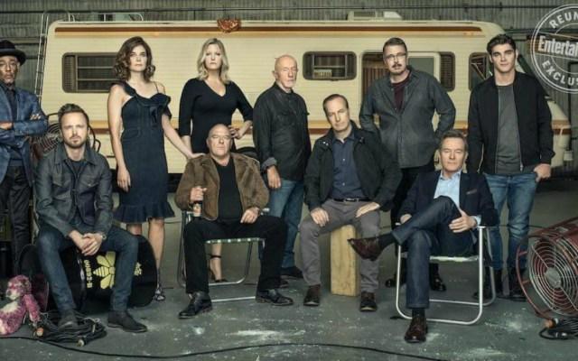 Protagonistas de Breaking Bad se reúnen a 10 años del inicio de la serie - Foto de Entertainment Weekly