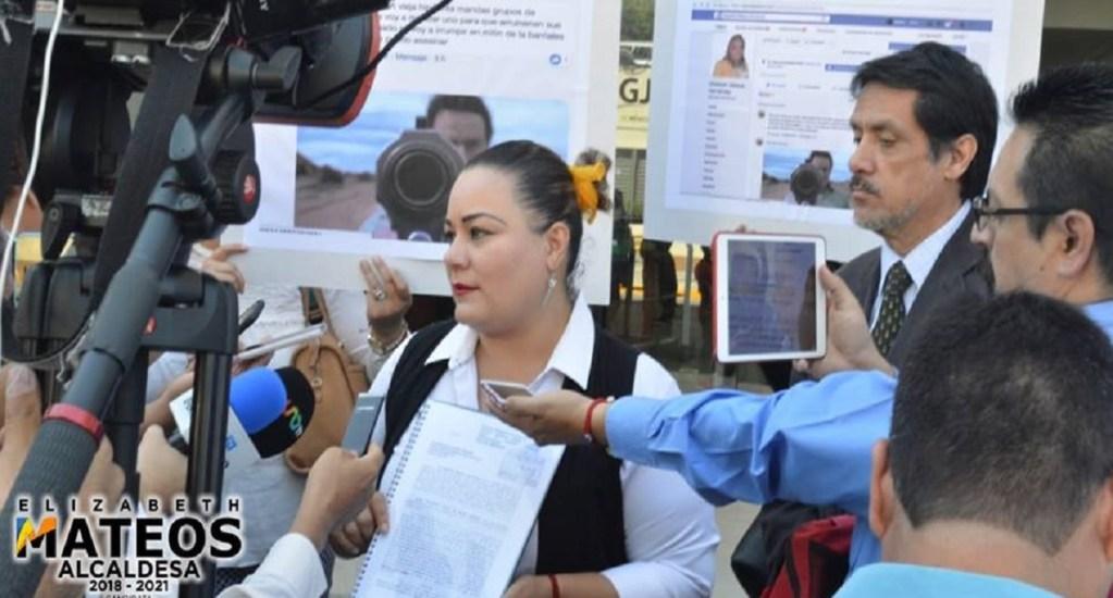 Candidata de Iztacalco denuncia amenazas de muerte de militantes de Morena - Foto de Elizabeth Mateos