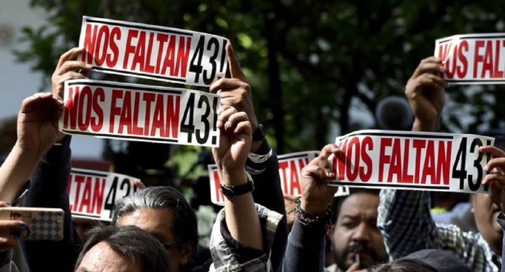 Manifestaciones para este sábado - Manifestación por la desaparición de 43 normalistas de Ayotzinapa. Foto de AFP/Getty Images