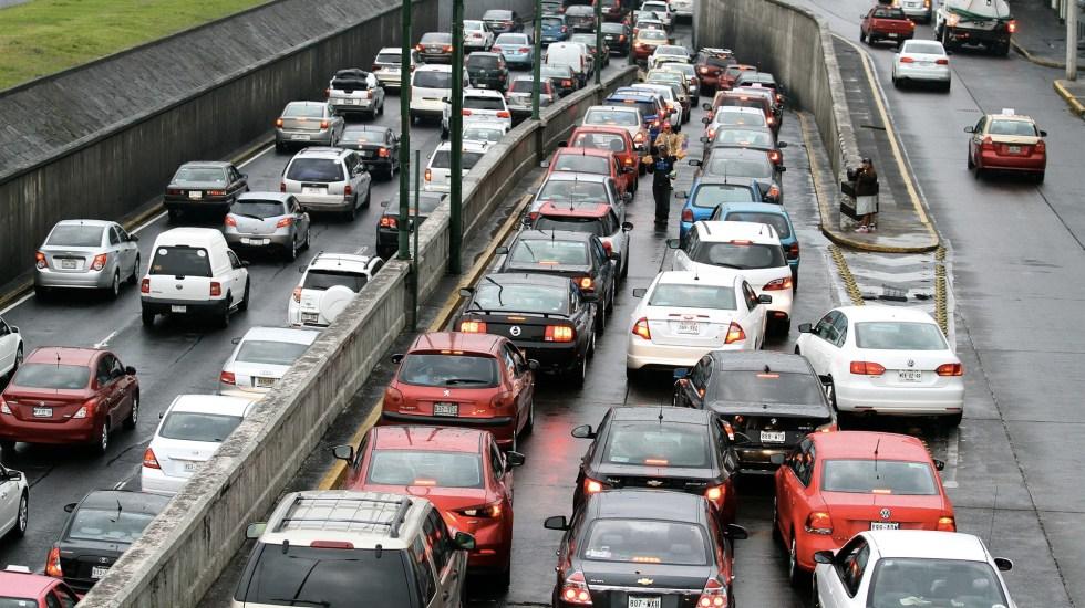 Los vehículos que no circulan este jueves por Contingencia Ambiental - Foto de Notimex