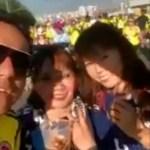 Polémica en Colombia por aficionado que insulta a japonesas