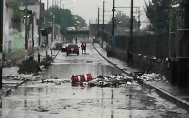 Lluvias inundaron 252 casas en el Estado de México - Foto de @CaemEdomex