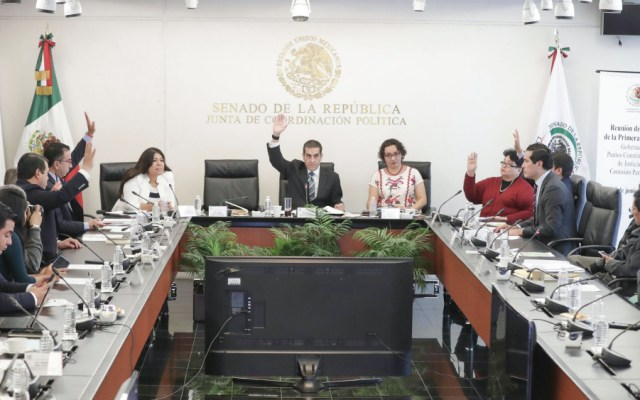 Comisión Permanente turna expediente del Caso Anaya - Foto de @senadomexicano