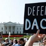 Gobierno de Trump da ultimátum a corte para fallo en caso de 'Dreamers' - Gobierno de Trump da ultimátum a corte para fallo en caso de 'Dreamers'