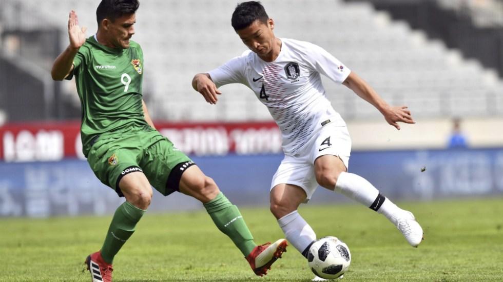 Corea del Sur empata sin goles con Bolivia en duelo de preparación - Foto de @lacronicacom