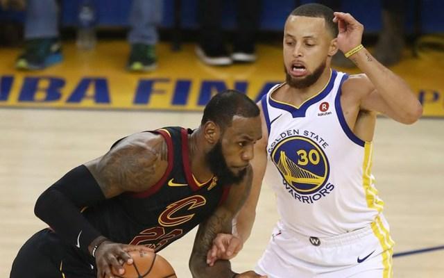 Golden State gana el primer juego de las finales de la NBA - Foto de AP