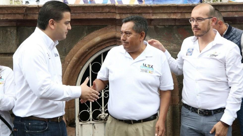 Abanderan a hermano de candidato asesinado en Michoacán - Foto de @damianzepeda
