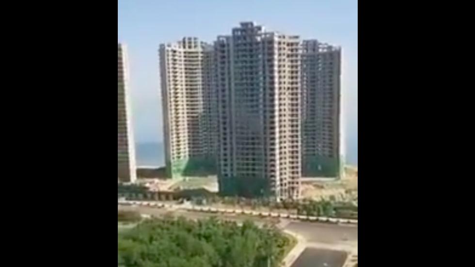 #Video En menos de 20 segundos demuelen cuatro edificios en China - Captura de pantalla