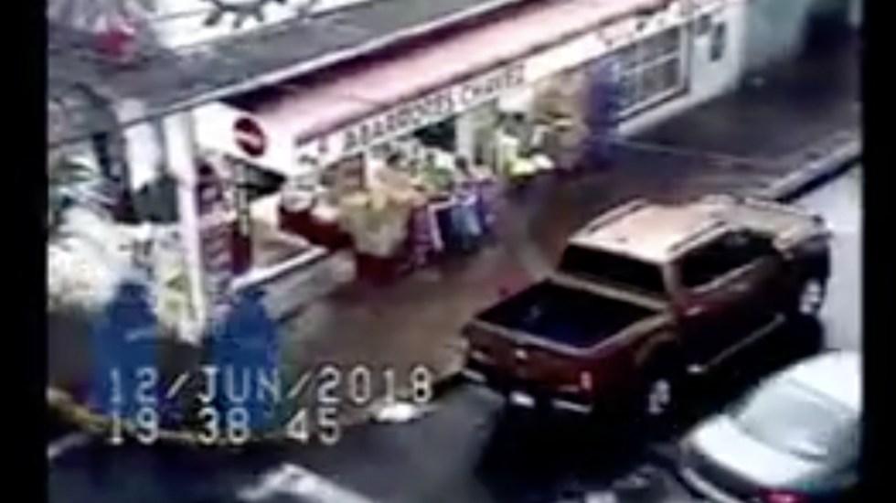 #Video Detienen a ladrón que asaltó a automovilista en Miguel Hidalgo