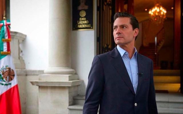 Aprobación de Peña Nieto, una de las más bajas - Foto de Instagram