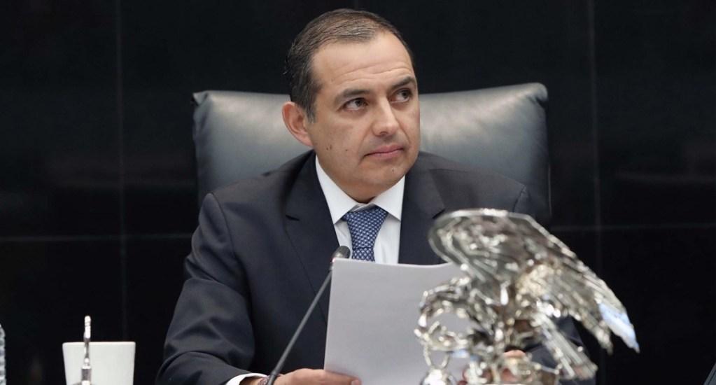 Niega exsenador Ernesto Cordero recibir sobornos de Lozoya - En la foto, Ernesto Cordero. Foto de Senado