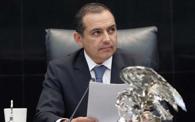 Ernesto Cordero rechaza acusaciones de sobornos por reforma energética - En la foto, Ernesto Cordero. Foto de Senado