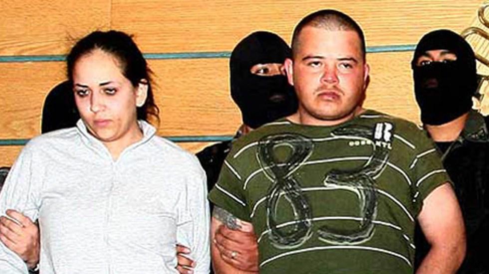 Yanet Deyanira García con Sigifredo Nájera. Foto de EFE