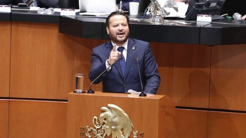 Fernando Herrera, coordinador del PAN en el Senado. Foto de @FHerreraAvila