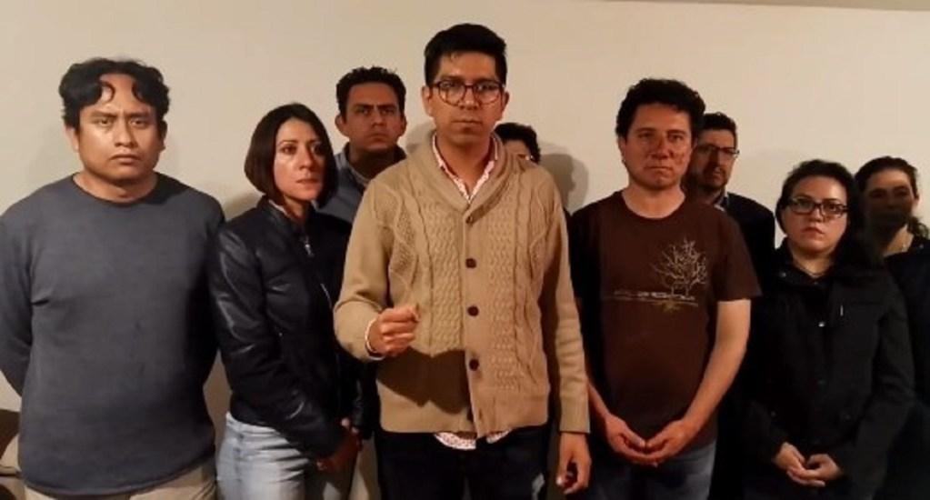 #Video Agreden a damnificados del Multifamiliar de Tlalpan - Foto Captura de Pantalla