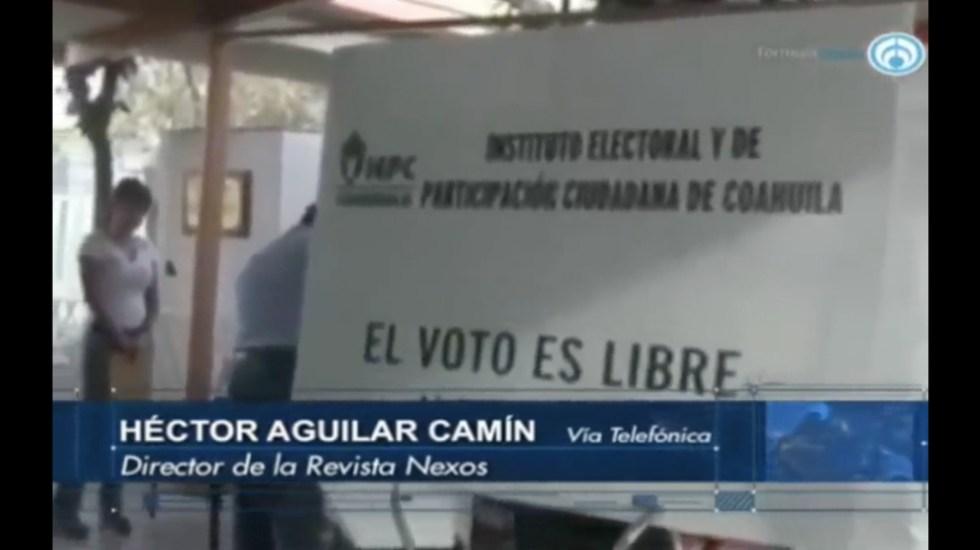 Esta elección traerá un cambio para el sistema: Héctor Aguilar Camín