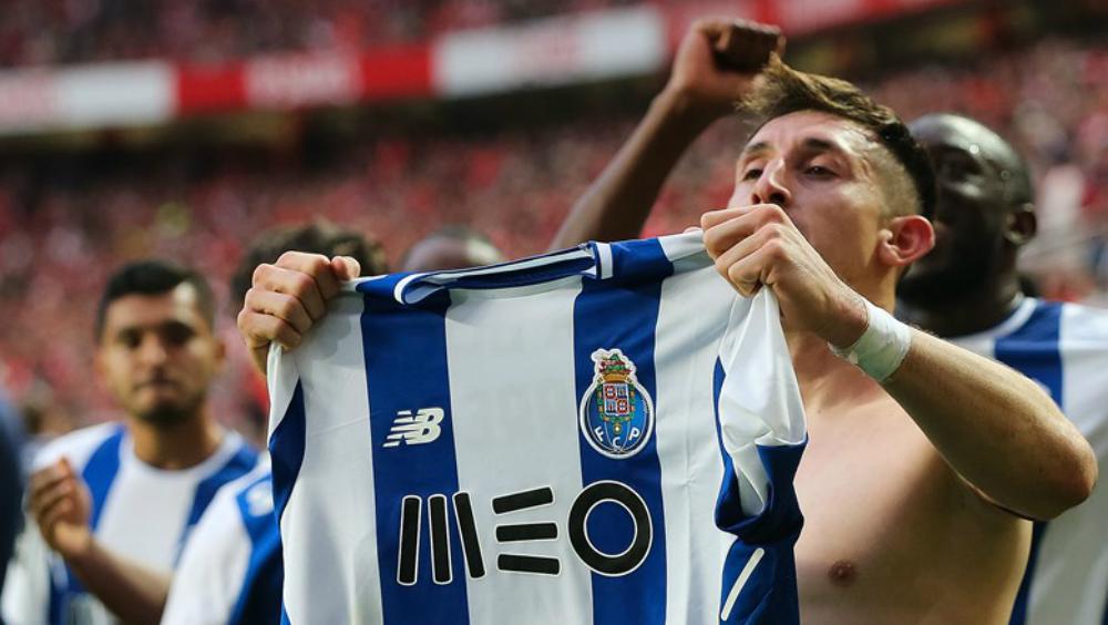 Gol de Herrera elegido el mejor de la temporada en Portugal - Foto de Porto