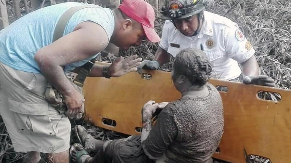 Suben a 46 lesionados por erupción en Guatemala - Foto de El Periódico