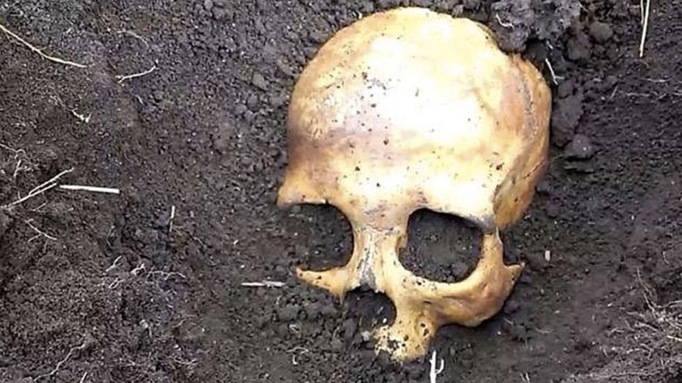 Hombre descubre el cadáver del primer marido de su esposa - Foto de Internet