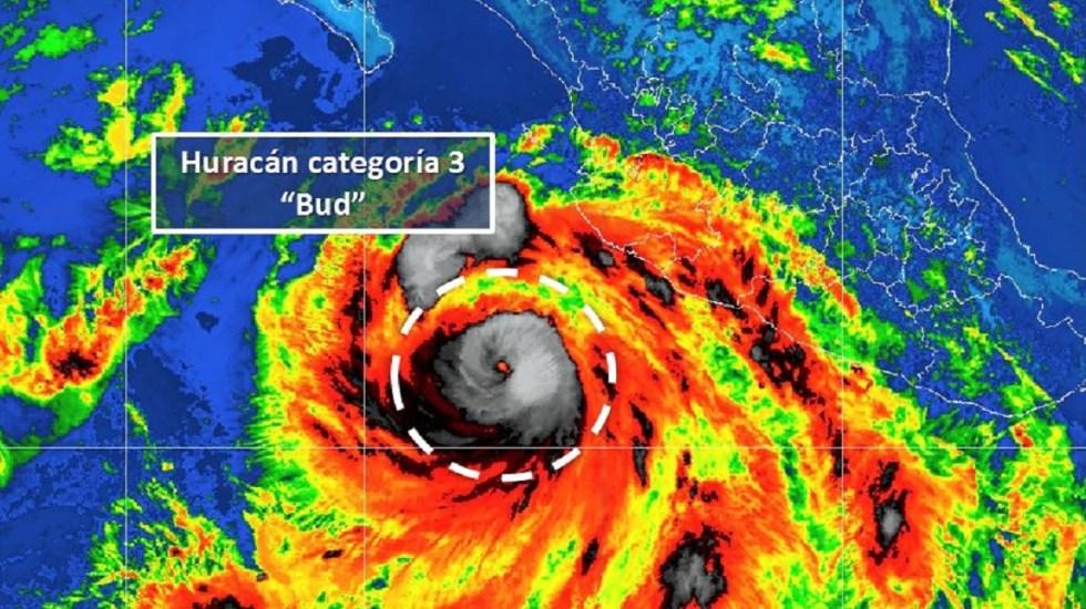 Huracán Bud pasó con mínima fuerza por Michoacán