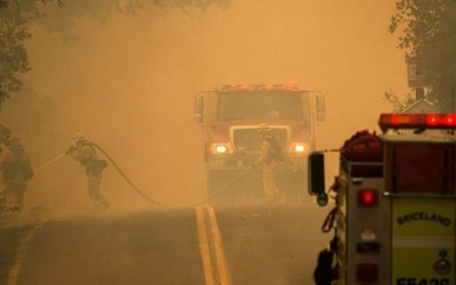 Se reportan cuatro incendios fuera de control en California
