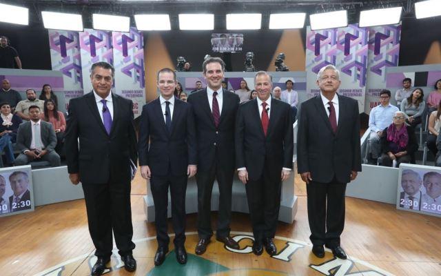 Todos los detalles sobre el Tercer Debate entre candidatos a la Presidencia - Foto de @lorenzocordovav