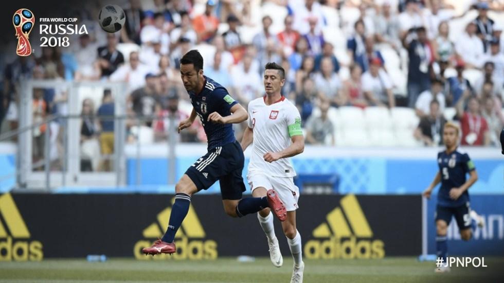Japón clasifica segundo pese a caer contra Polonia - Foto de @FIFAWorldCup